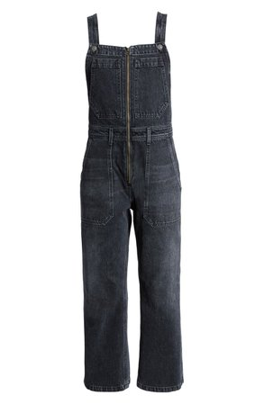 Citizens of Humanity Cher Zip Front Wide Leg Overalls (Holy Smokes) | Nordstrom