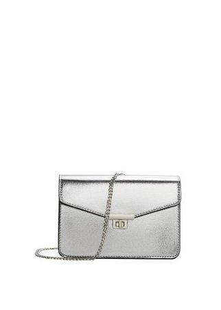 MANGO Small metallic bag