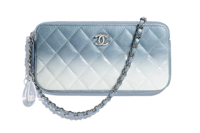 Chanel Pastel Ombré Clutch and Purses   HYPEBAE