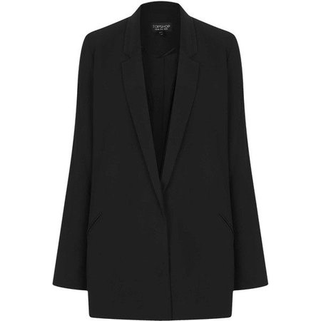 TOPSHOP Tailored Long Line Blazer ($140)