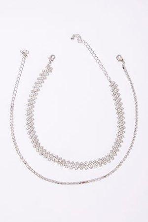 Rhinestone Choker Necklace Set | Forever 21