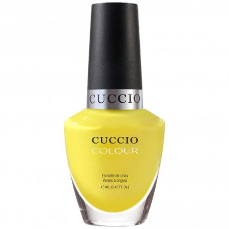 Cuccio Sweet as Sugar Lemon Drop Me A Line at Nail Polish Direct