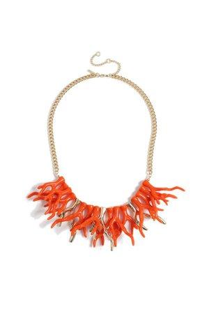 **Coral Collar Necklace | Topshop