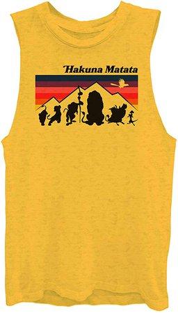 Amazon.com: Hakuna Matata Lion King Tank