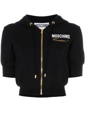 Moschino Blusa De Moletom Cropped - Farfetch