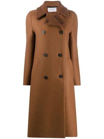 Harris Wharf London, double-breasted Wool Coat