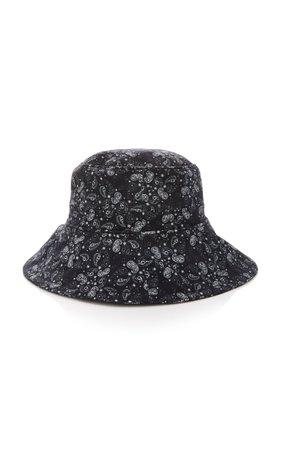 Sensi Studio Printed Corduroy Bucket Hat Size: M