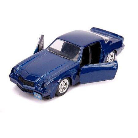 "Billy's Chevrolet Camaro Z28 Metallic Dark Blue ""Stranger Things"" (2016) TV Series 1/32 Diecast Model Car By Jada : Target"