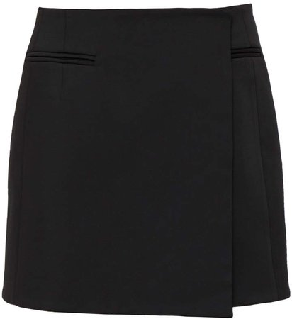 Mach & Mach Black Mini Skirt