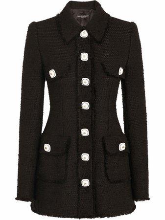 Dolce & Gabbana button-front Jacket - Farfetch
