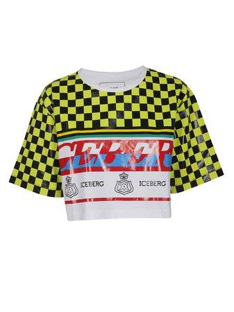 Iceberg Cropped T-shirt