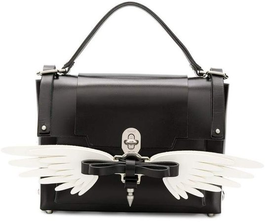 Wings Bow Buckle backpack