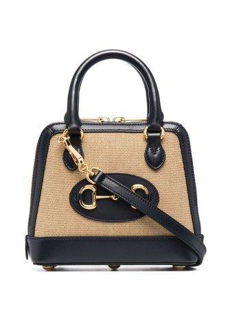 Gucci signature Horsebit detail tote bag - FARFETCH