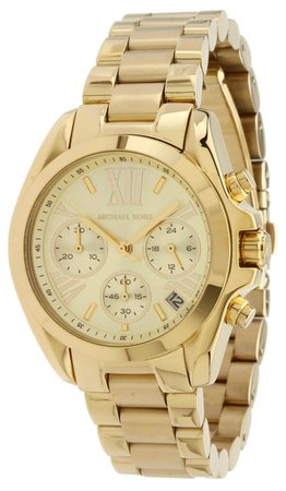 MK5798 Michael Kors Bradshaw Chronograph Women's Gold Tone Steel Watch