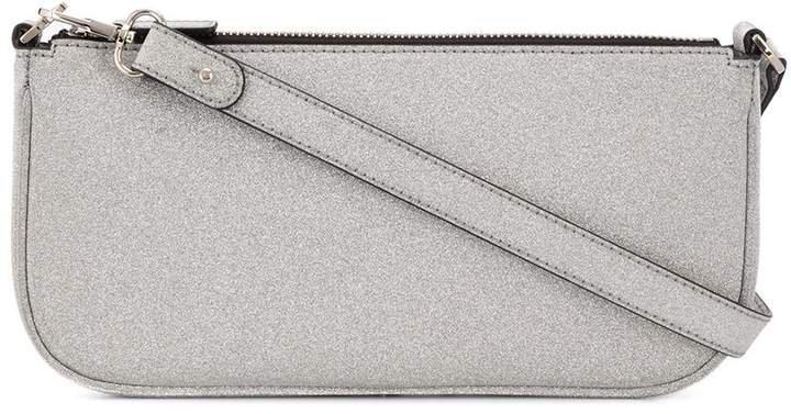 zipped clutch bag