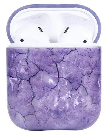 air pod purple case