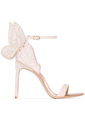 Sophia Webster Chiara Butterfly Sandals Ss20   Farfetch.Com
