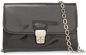 Patent-leather Shoulder Bag
