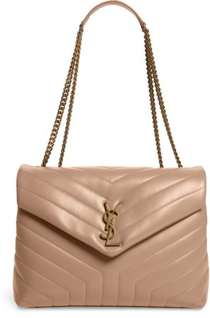 Medium Loulou Matelasse Leather Shoulder Bag