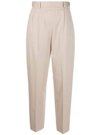 Pre-Owned 1980s tapered trousers