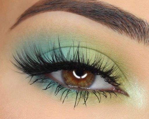 Blue / Green Eye Makeup
