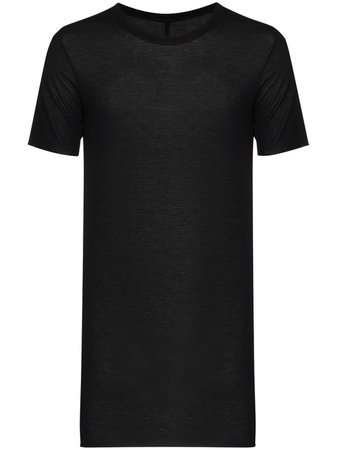 Shop black Rick Owens plain T-shirt with Express Delivery - Farfetch