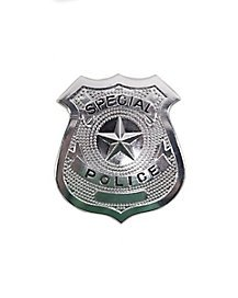 Costume police badge