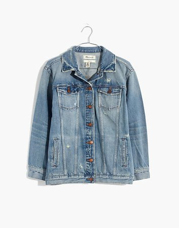 The Oversized Jean Jacket in Westend Wash