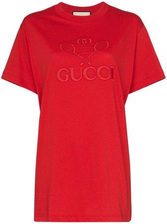 Camiseta Con Gucci Tennis Gucci Por 450€ - Compra Online Aw19 - Devolución Gratuita Y Pago Seguro