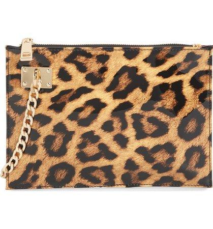 Sondra Robers Leopard Clutch   Nordstrom