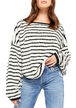 Free People Breton Striped Pullover