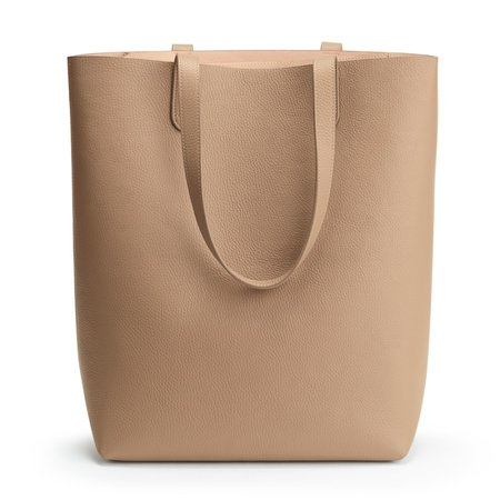 Tall Structured Leather Tote | Cuyana