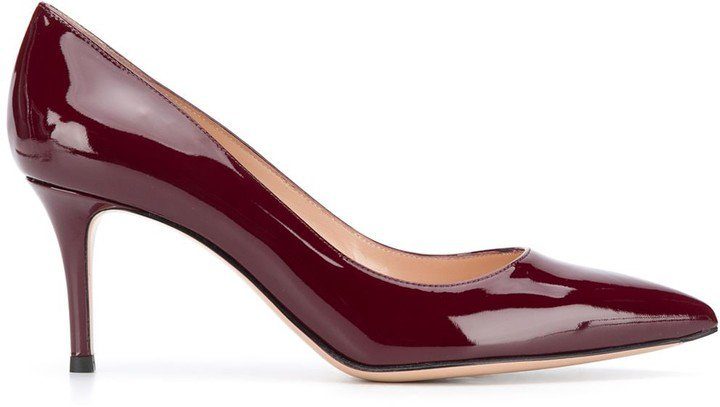 Gianvito 65mm pointed pumps