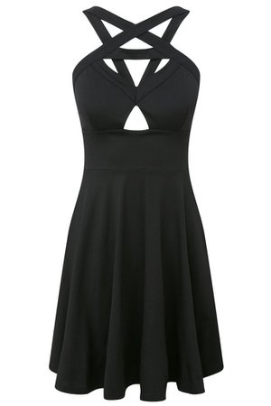 Cosmik Skater Dress [B] | KILLSTAR
