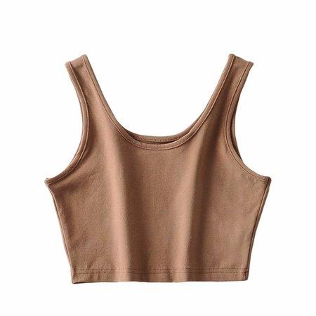 Summer vintage basic black white crop top women workout tank top sleeveless sexy top women underwear cropped feminino Tank Tops  - AliExpress