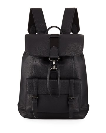 Coach Bleecker Pebbled Leather Backpack