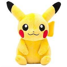 "Tomy Pokemon Angry Pikachu 8"" Plush | Pikachu plush, Pokemon plush, Nintendo plush"