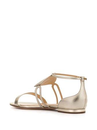 Alexandre Birman Dee Dee Flat Sandals