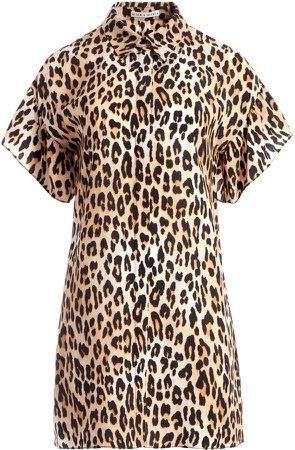 Jude Leopard Mini Dress