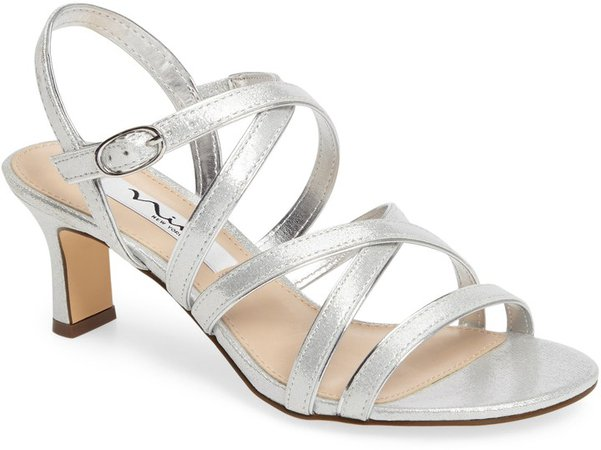 Genaya Strappy Evening Sandal