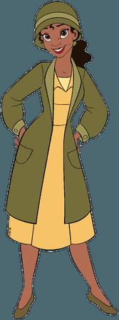 disney clipart tiana