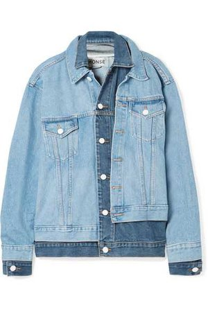Monse Oversized Layered Denim Jacket