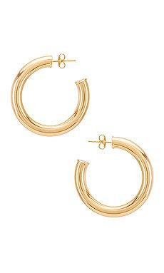 Casa Clara Annie Hoop Earring in Gold | REVOLVE