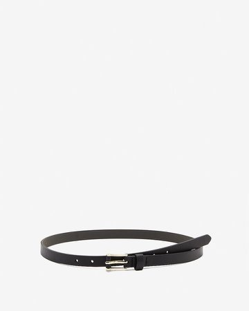 Mini Rectangle Buckle Wrapped Belt