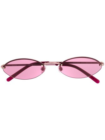 Marc Jacobs Eyewear Oval Frame Sunglasses