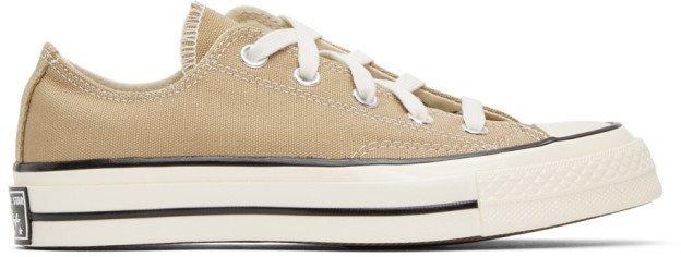 Tan Chuck 70 Low Sneakers