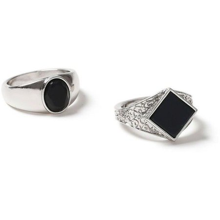 silver ring polyvore – Pesquisa Google