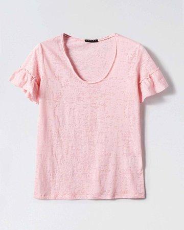 Sisley pink t shirt