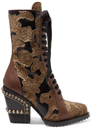 Chloe studed boots