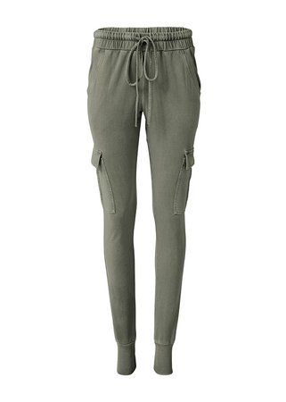 Cargo Lounge Joggers in Olive | VENUS